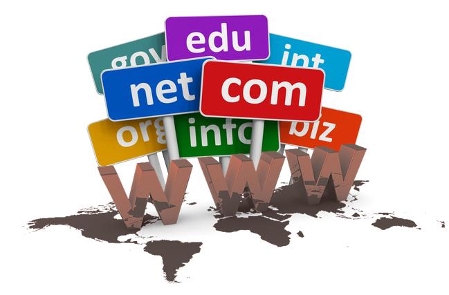 İnternet, alan adları, domainler
